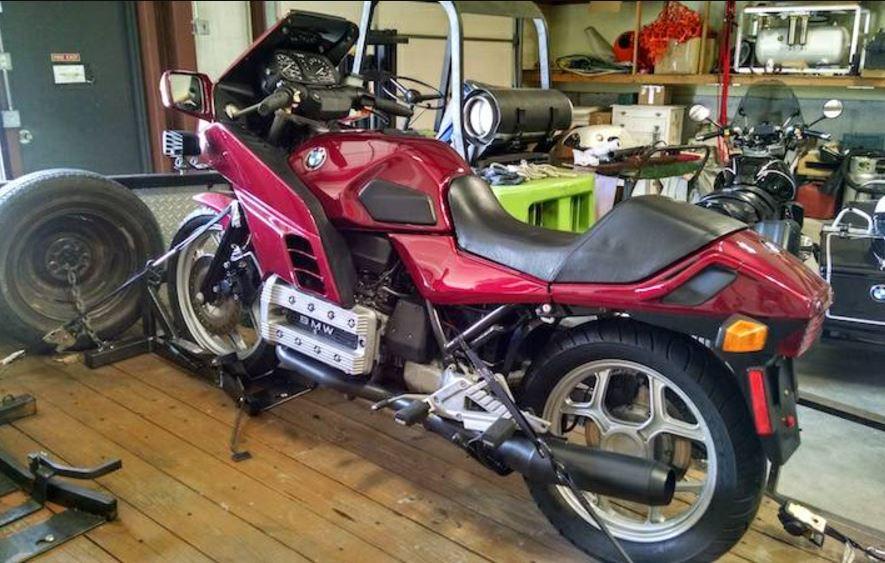 Boosted Motoren Werke – 1986 BMW K100RS Turbo – Bike-urious