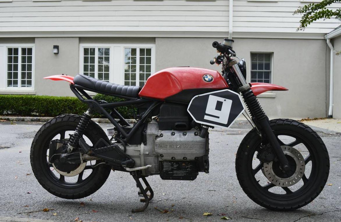 Foundry Inspired 1987 Bmw K75 Tracker Bike Urious