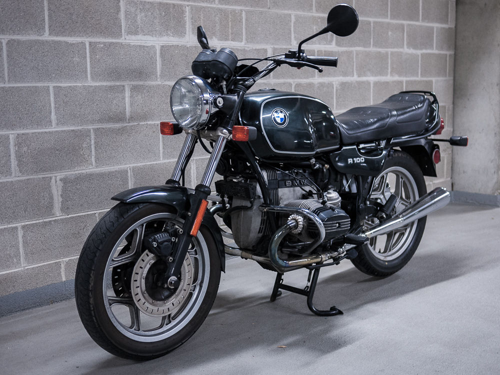 1 Of 180 1990 Bmw R100 Classic Bike Urious