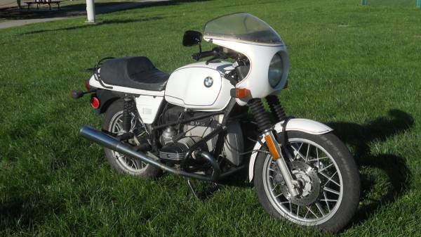 BMW R100 Last Edition - Front Right