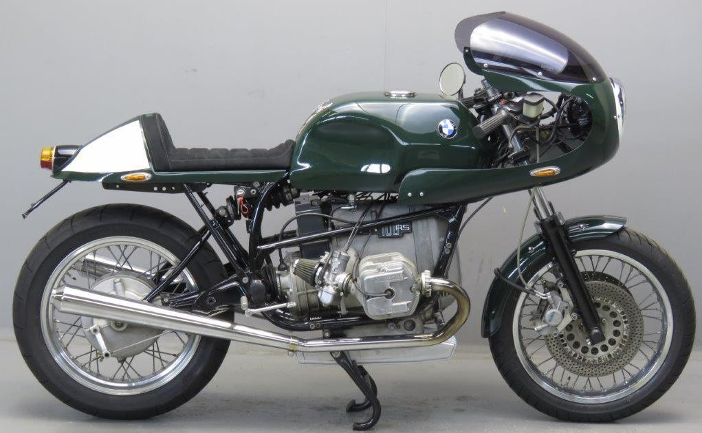 In Holland – 1987 BMW R100RS Racer | Bike-urious