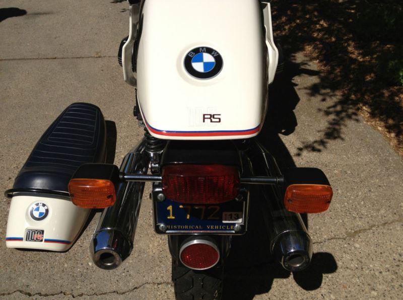 BMW R100RS Motorsport - Rear