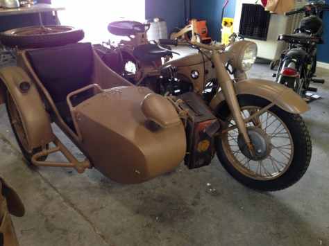 BMW R12 Military Sidecar - Front Right