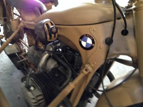 BMW R12 Military Sidecar - Right Side
