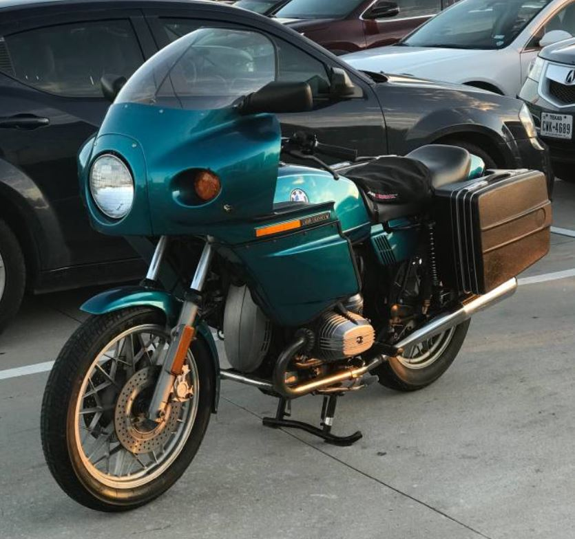Don Vesco-Bodied - 1982 BMW R65 w/ Rabid Transit Fairing