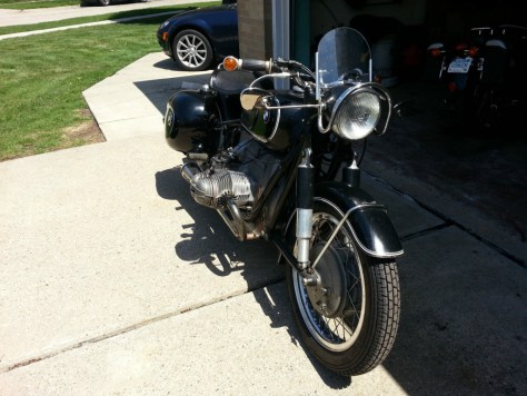 BMW R69S with 1040cc motor - Front Right