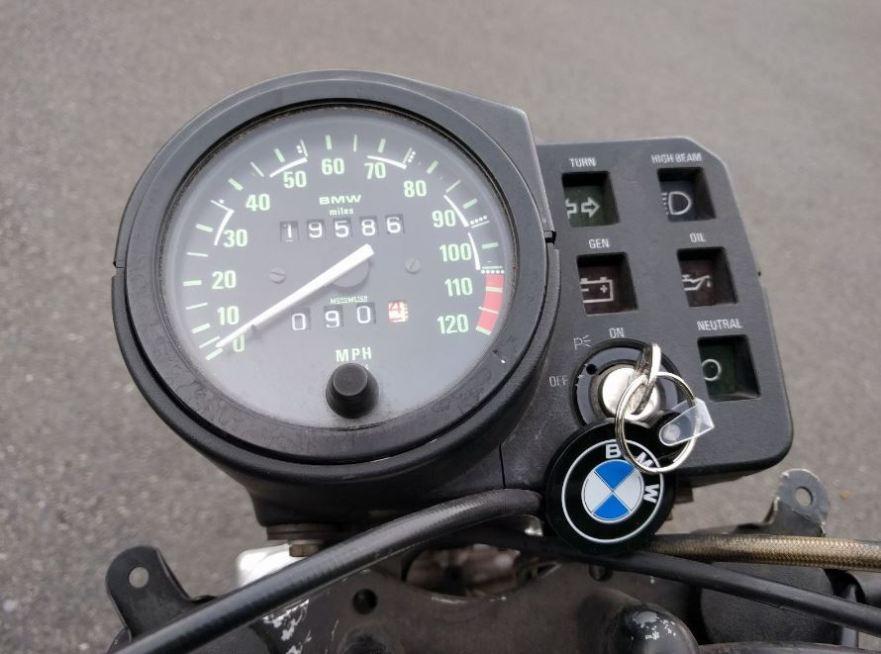 BMW R80GS - Cockpit