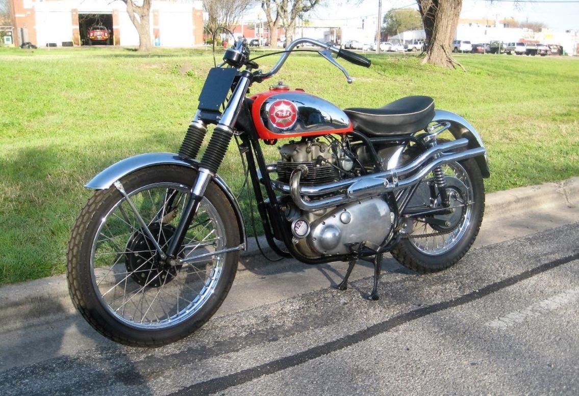 1957 Bsa Spitfire Scrambler Bike Urious