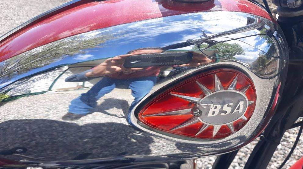 Restored – 1967 BSA Thunderbolt