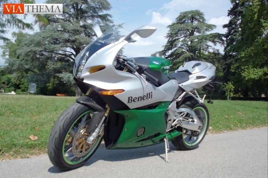 Exotic Italian In Switzerland 2003 Benelli Tornado Novecento Tre