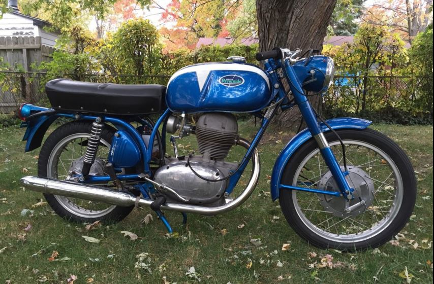 From Benelli – 1968 Wards Riverside 250