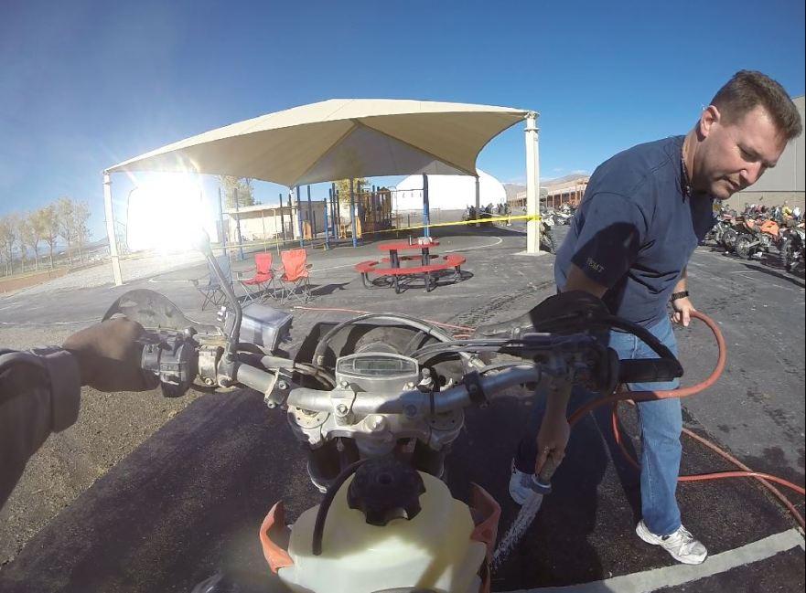 Bike-urious Does Baja - Wash
