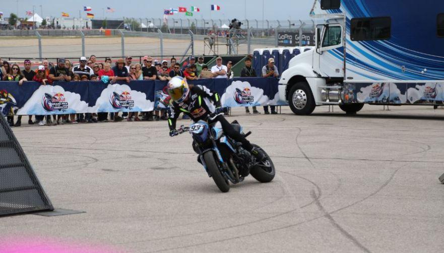 Bike-urious MotoGP Austin - Aaron Colton Slide
