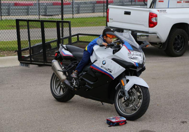 Bike-urious MotoGP Austin - BMW K1300S Kid