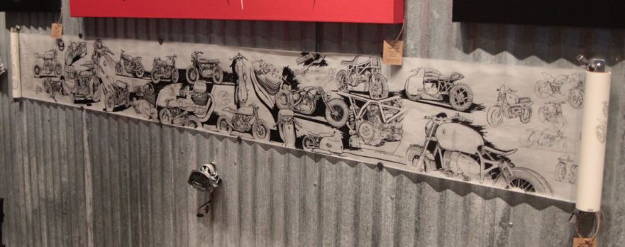 Bike-urious MotoGP Austin - DownShift Studio Mural