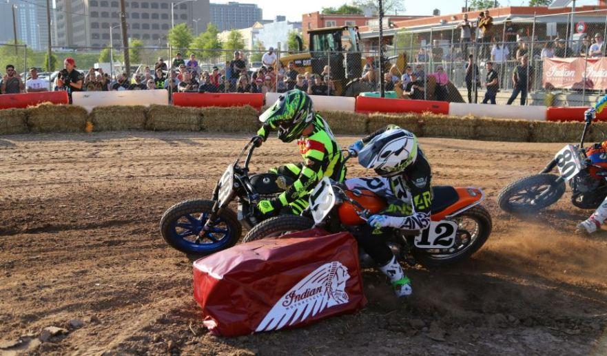 Bike-urious MotoGP Austin - Flat Trackin' 2