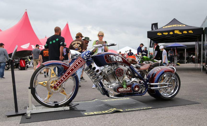 Bike-urious MotoGP Austin - Geico Custom