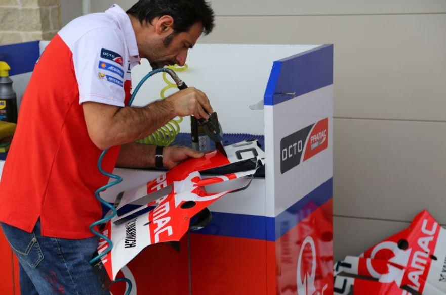 Bike-urious MotoGP Austin - Pramac Ducati Wing Dremel