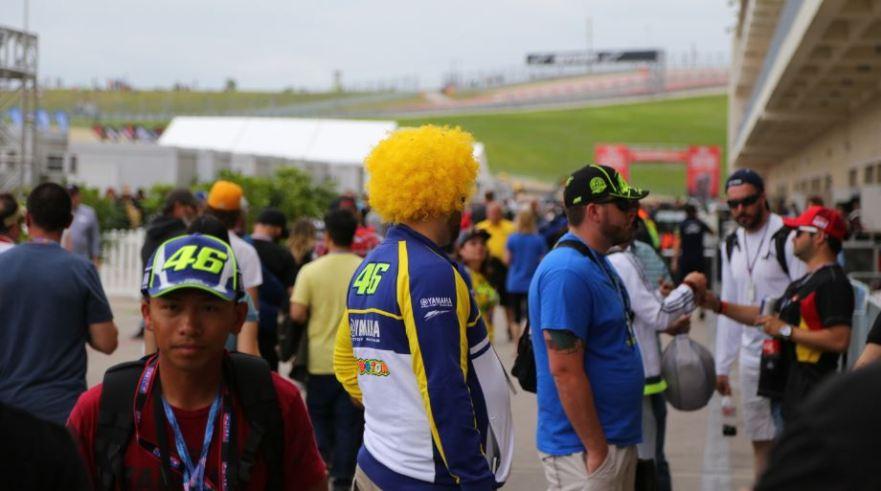 Bike-urious MotoGP Austin - Rossi Fans Everywhere