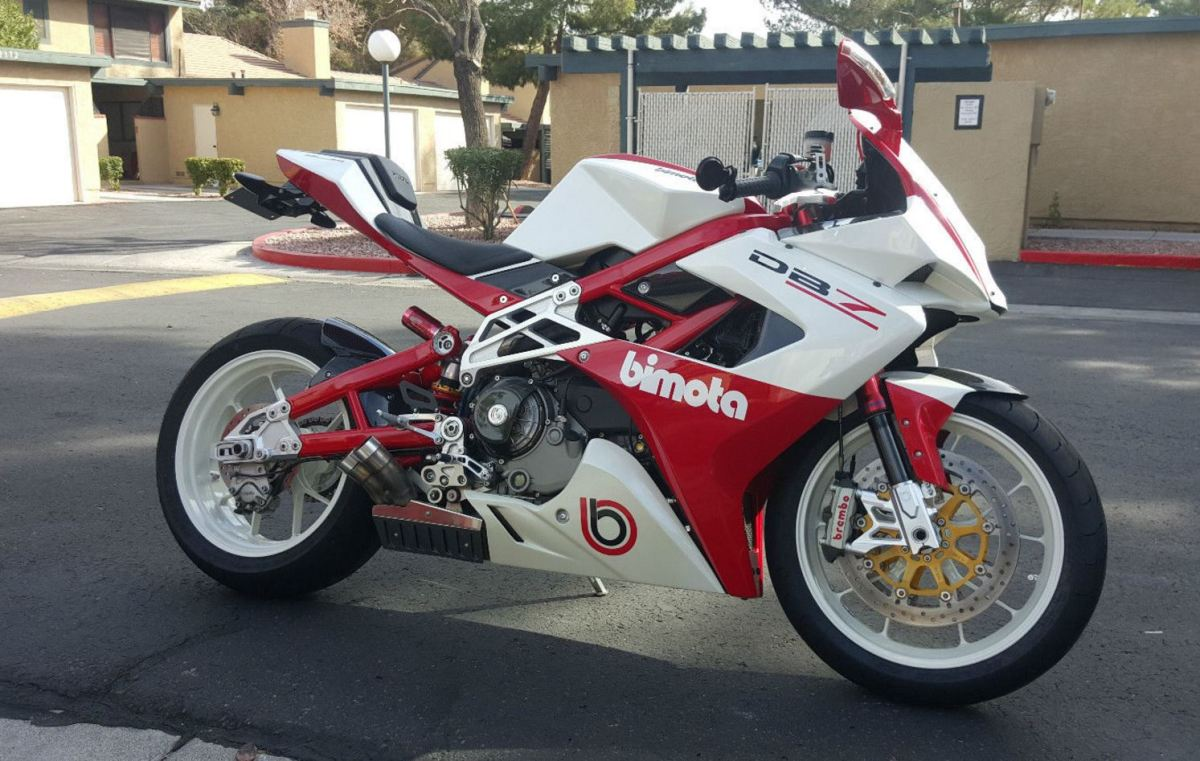 Number 2 - 2009 Bimota DB7