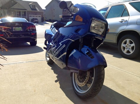 Bought on Bike-urious - BMW K1 - Front