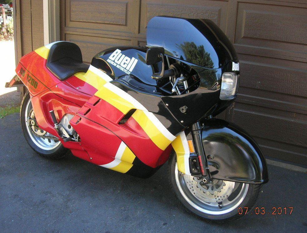 Battletwin 1989 Buell Rr 1200 Bike Urious