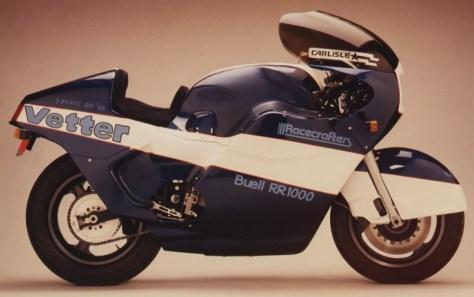Buell RR1000 Prototype - Vetter