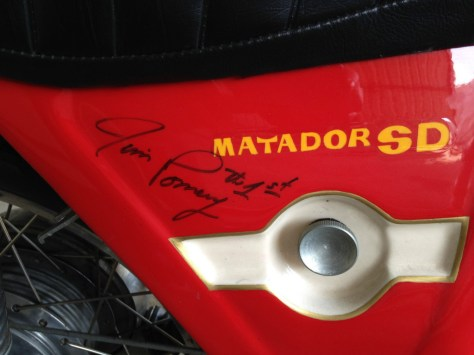 Bultaco Matador MkV - Jim Pomeroy Signature
