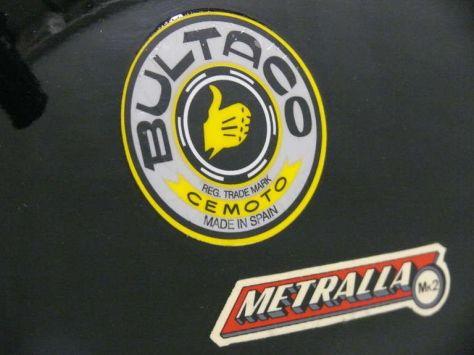 Bultaco Metralla - Decals