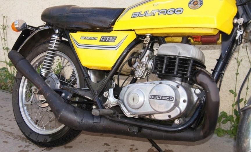 Bultaco Metralla GTS - Engine