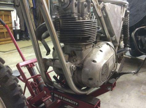 Bultaco Model 11 Metisse Project - Engine