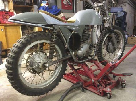 Bultaco Model 11 Metisse Project - Rear Right