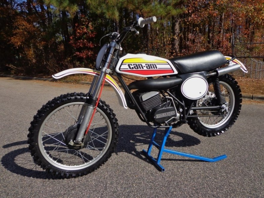 Can-Am TNT 125 - Left Side