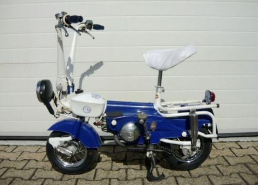 47cc Folding Moped - 1975 Carnielli Motograziella