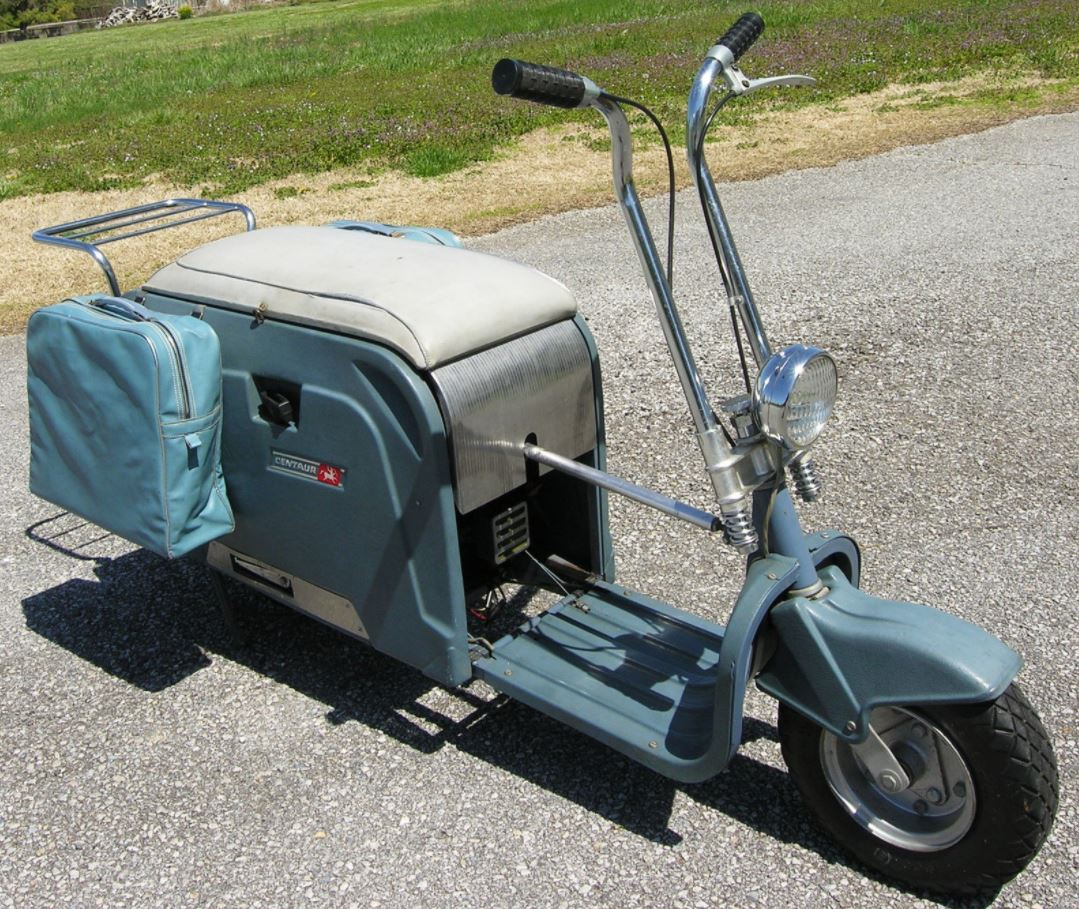 1962 Centaur Folding Scooter Bike Urious