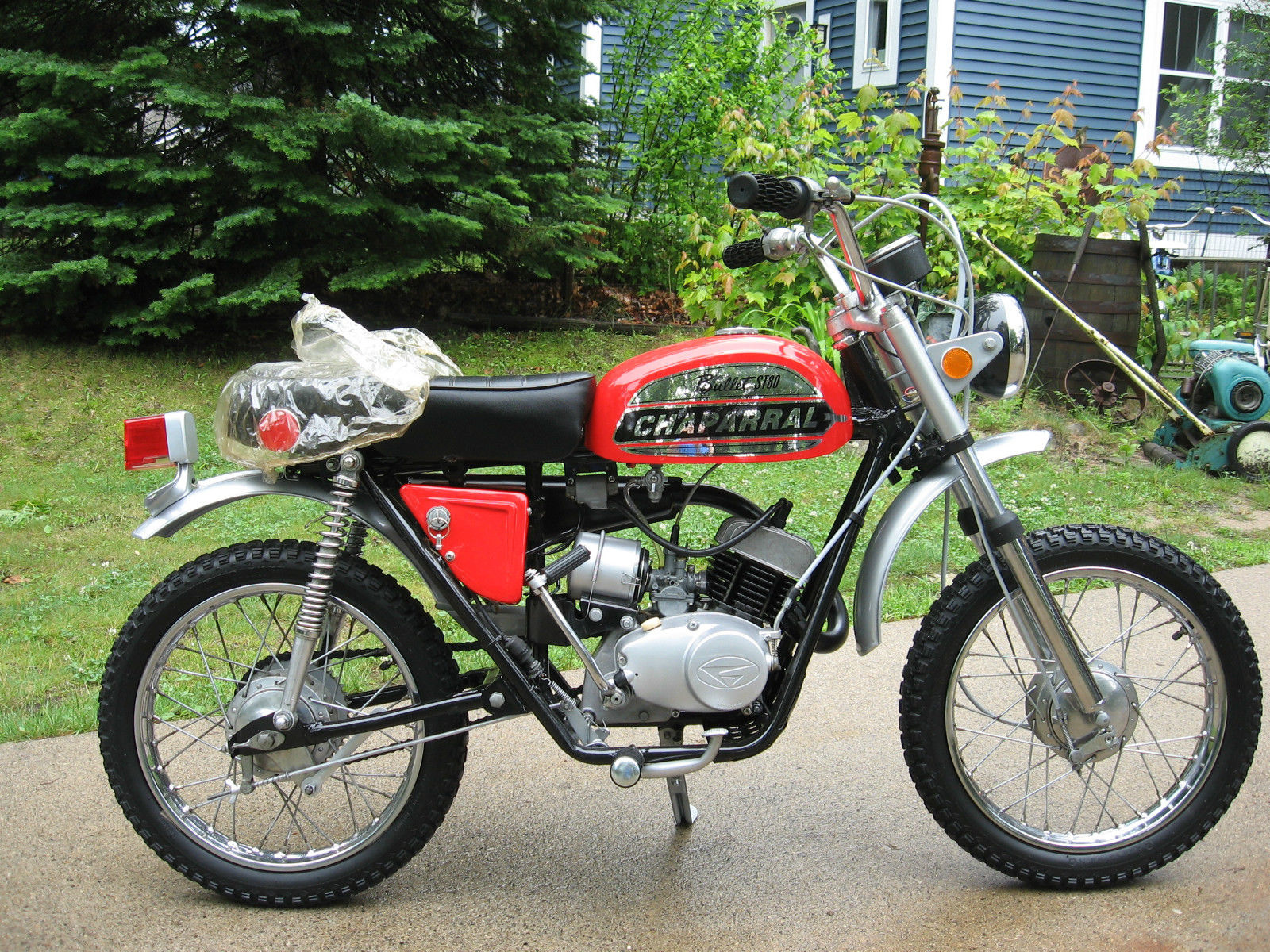 Best I've Seen – 1972 Chaparral Bullet ST80 | Bike urious