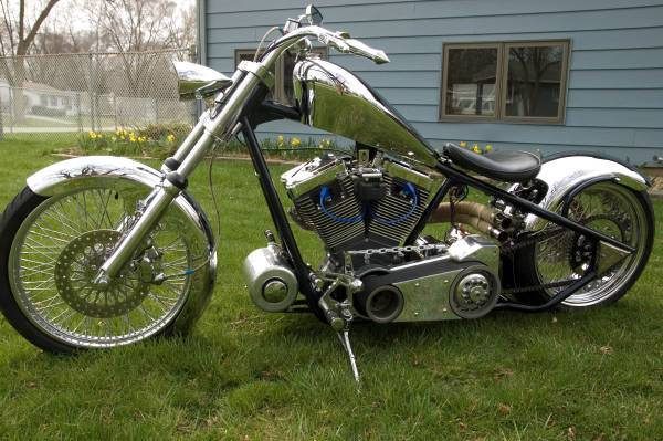 Chrome Chopper - Left Side