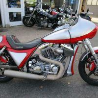 Corbin Warbird in England - 1987 Harley-Davidson FXR Custom