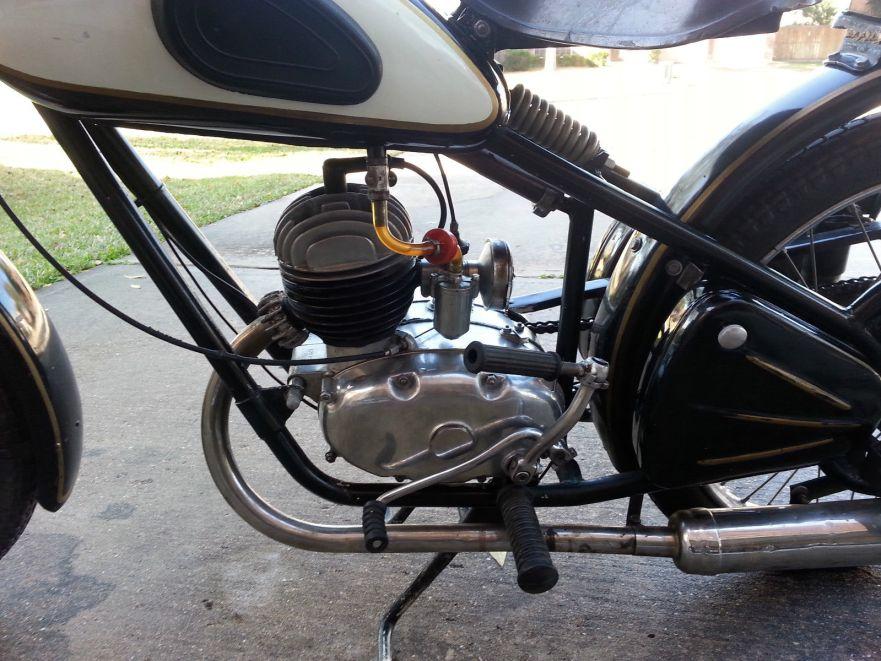 Csepel Danuvia - Engine