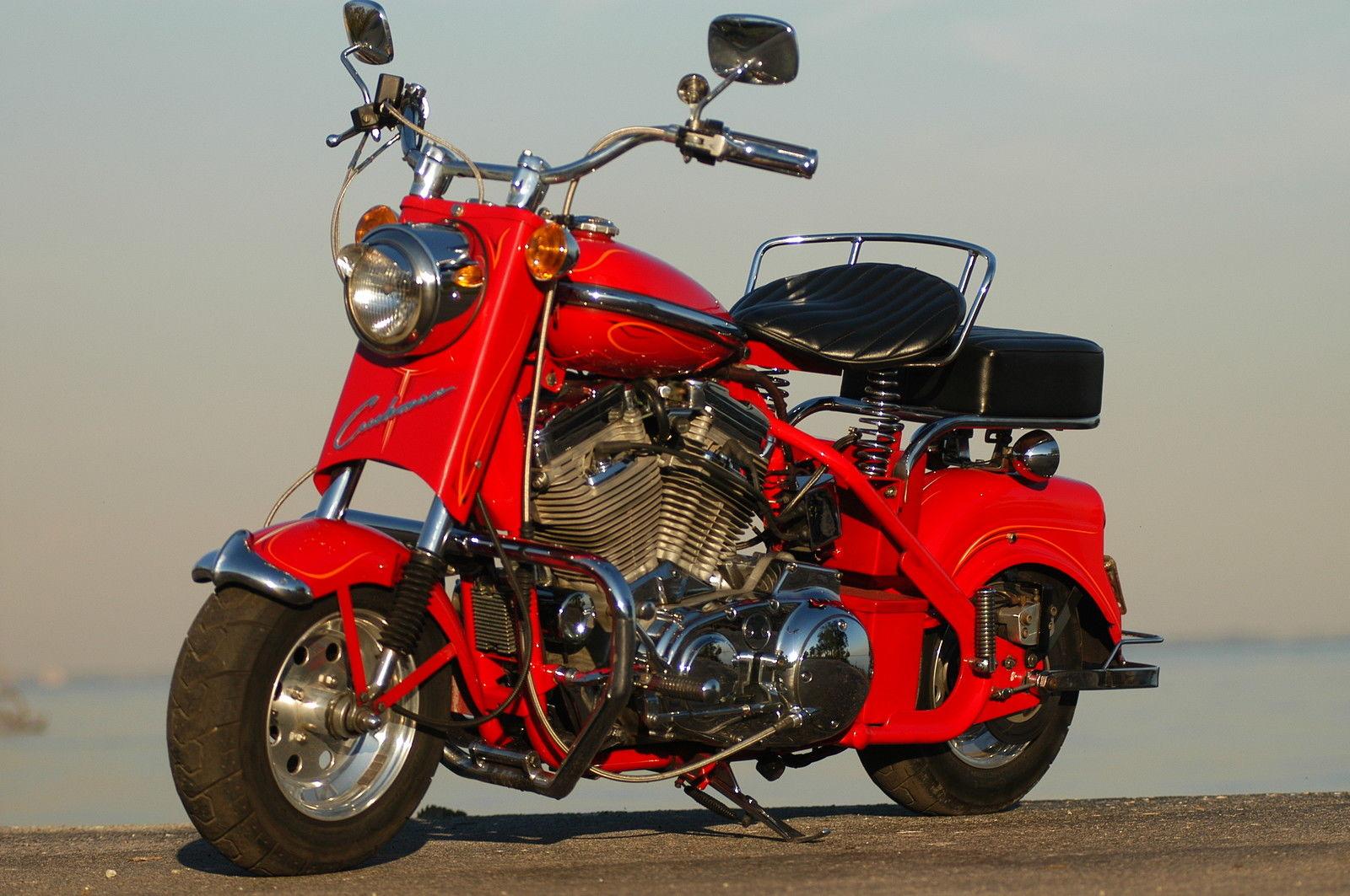 little bike  big engine  u2013 custom 1961 cushman eagle