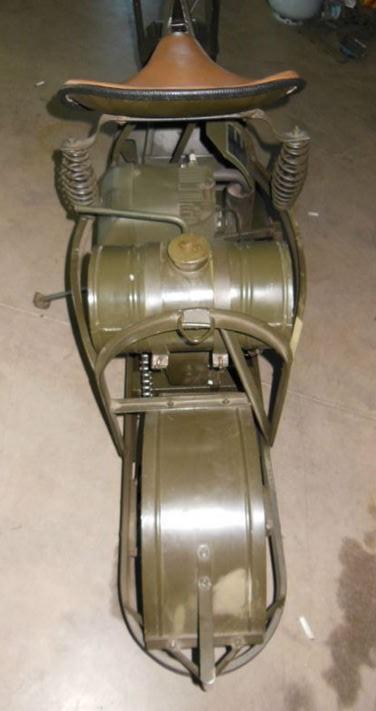 Cushman Model 53 - Rear