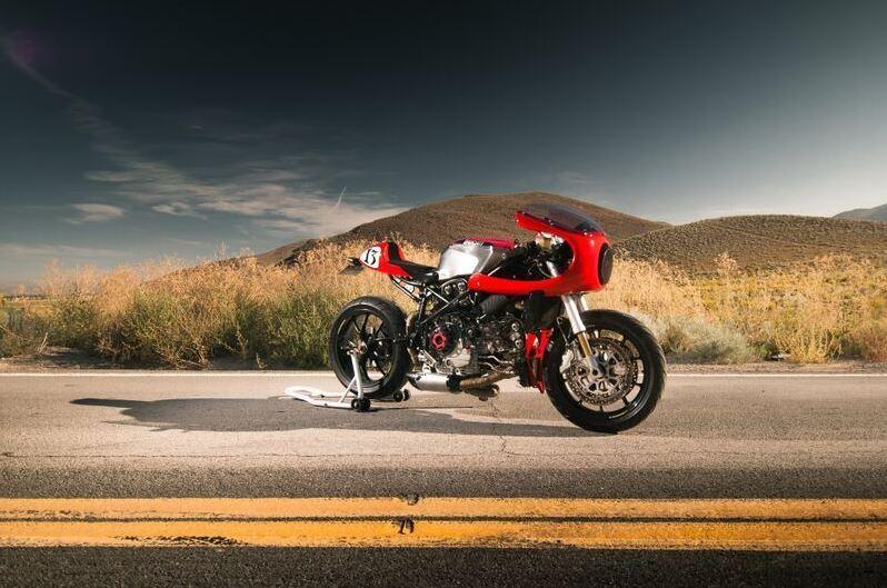 Ducati 749 Custom - Right Side