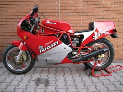 Ducati 750 F1 Montjuich - Left Side