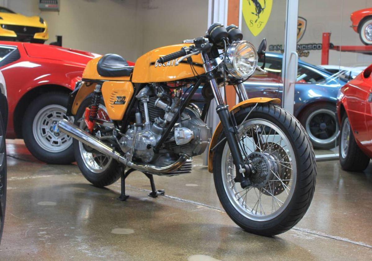 Immaculate - 1973 Ducati 750 Sport