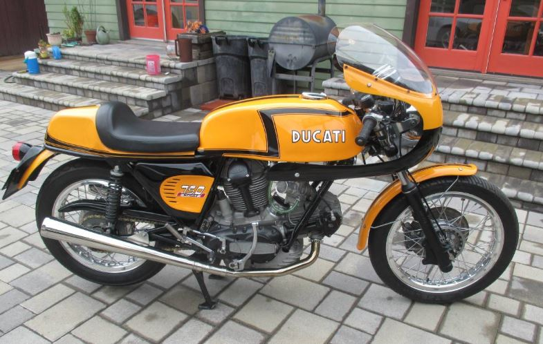 "1 of 50 - 1972 Ducati 750 Sport ""Z-Stripe"""