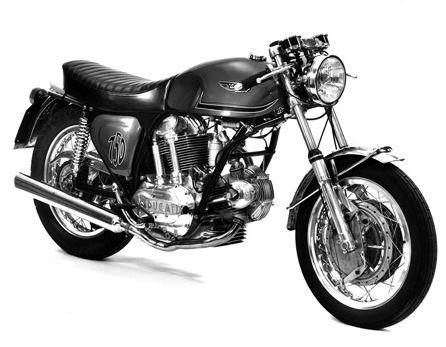 Ducati 750GT Custom - Original Prototype