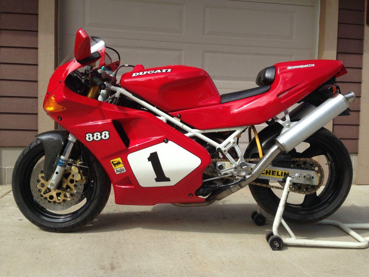 1992 Ducati 888 Sp4 Bike Urious