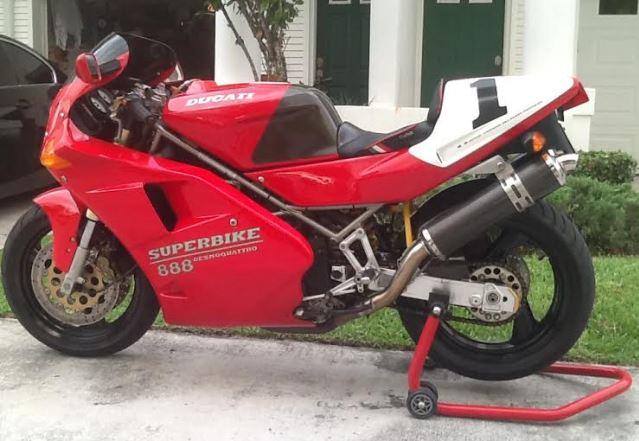 Ducati 888SPO - Left Side