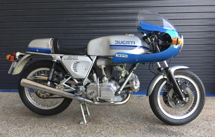 4 Kilometers In Australia 1976 Ducati 900SS