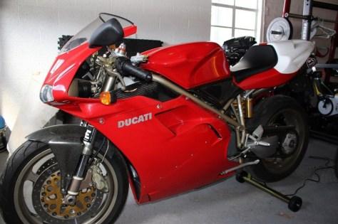Ducati 916 SPS - Left Side